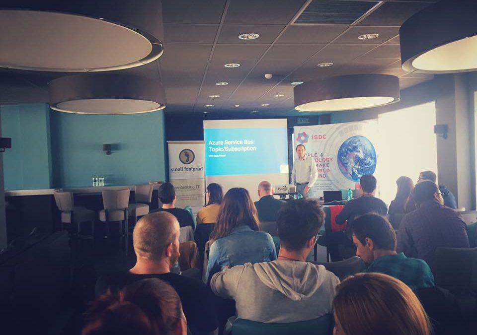 Global Azure Bootcamp (Aprilie 2016) – vedere de asamblu