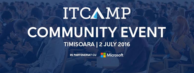 ITCamp Community Event în Timișoara (2 iulie 2016)