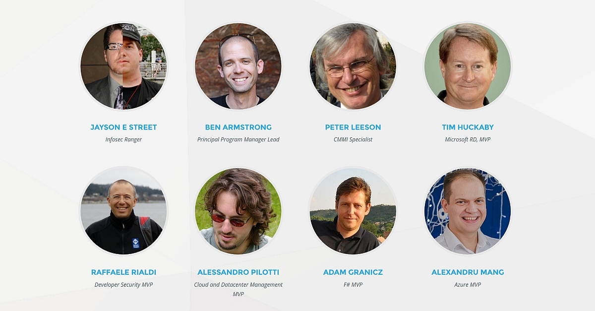 ITCamp 2017 speakers round 1